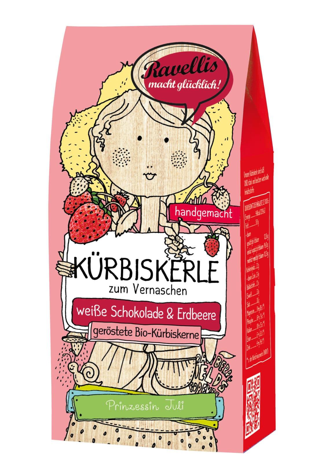 Weiße Schokolade & Erdbeere