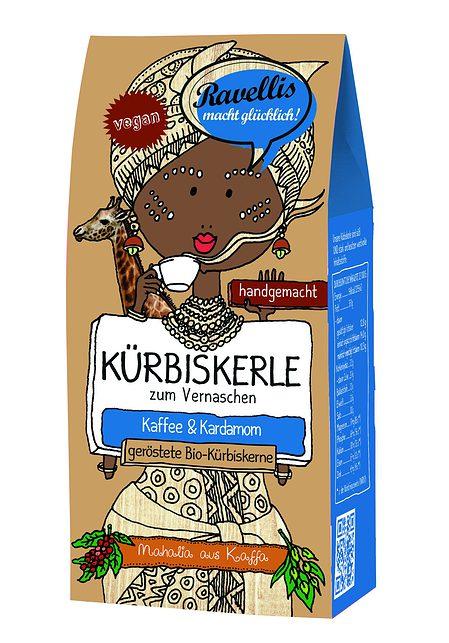 Kürbiskerne - Kaffee & Kardamom
